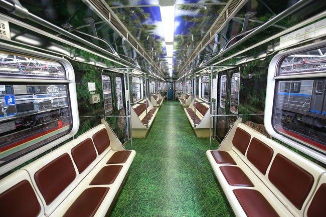 «Дальневосточный экспресс» начал курсировать по Таганско-Краснопресненской линии метрополитена