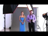 Cтудийная портретная съемка (фотосессия, мастер-класс, урок) | Обзор комплекта Falcon Eyes