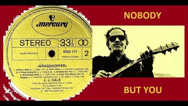 J. J. Cale - Nobody But You Vinyl