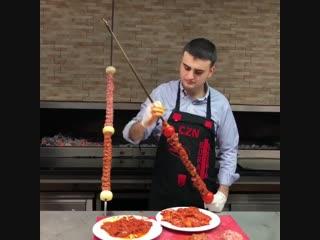 Он очень при очень крутой повар! так что советую попробовать его блюдо)