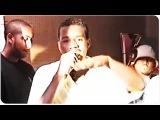 Kanye West Rapping at Fat Beats (1996)