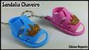Sandália de EVA Chaveiro / Lembrancinha Chá de Bebê 🍼👶💖
