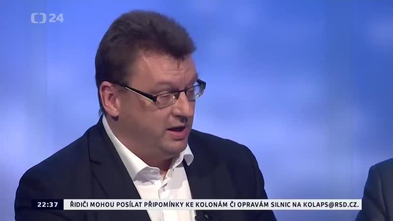Záznam z živého vysílání _Události, komentáře_,Lubomír Volný, nekompromisně označí V.Havla