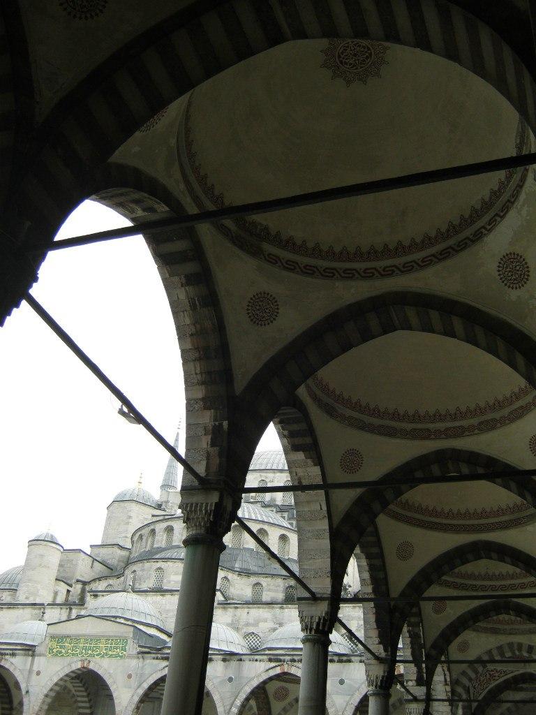 Одна из мечетей Стамбула