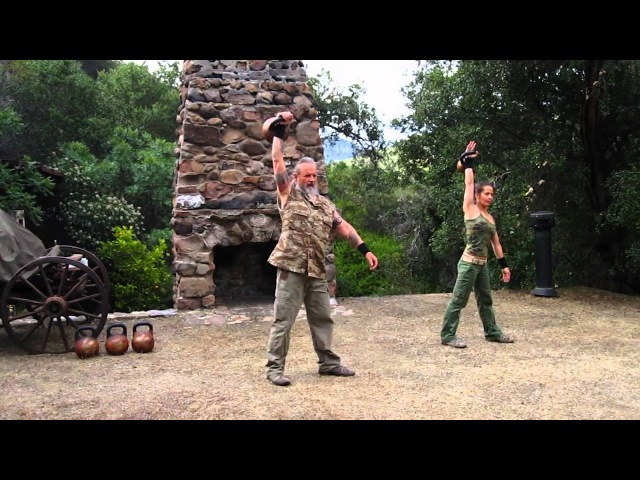 Kettlebell Duo 15 minute Endurance Complex featuring Zenkahuna and CoachTara