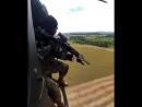 Стрельба по мишеням с вертолета
