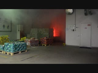ООО «КИИЛТО-Калуга» практические занятия по тушению условного очага пожара.