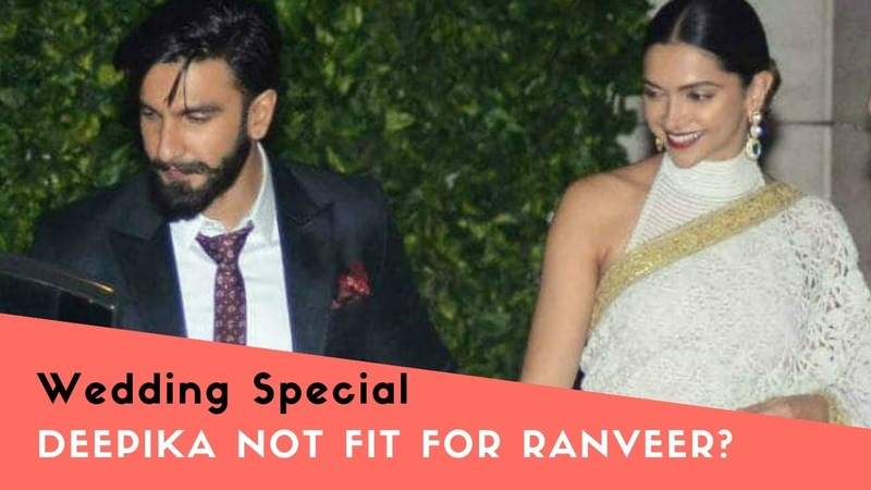 Deepika Ranveer Wedding Special Public Reaction | Deepika not fit for Ranveer?