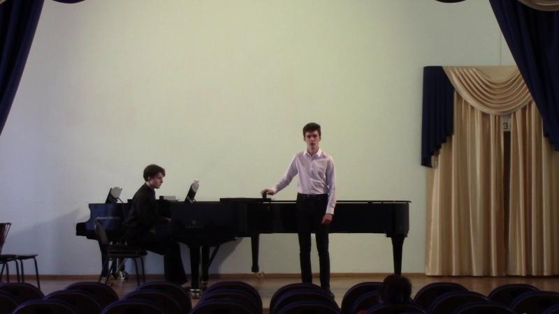 Зачётный академический концерт за I курс (Малый зал консерватории)