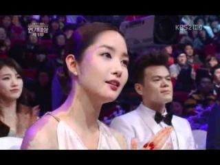 2011 KBS 연기대상 1부 111231 - 아이유 너랑나.avi