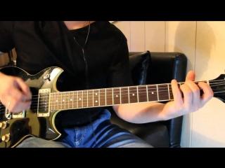 Цой Атаман партии гитары Каспаряна