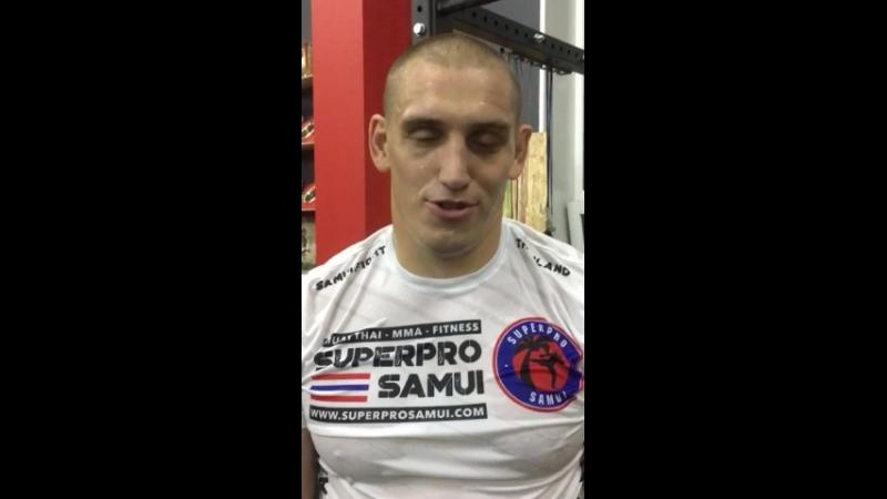 Видео привет от Дмитрия Сосновского