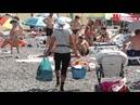 Доступность пляжей в Алуште