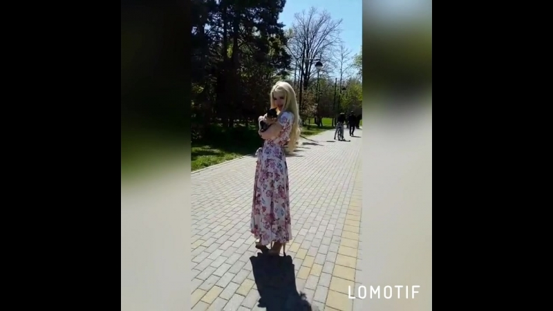 Кристина Фишман в платье РОЗАЛИНДА