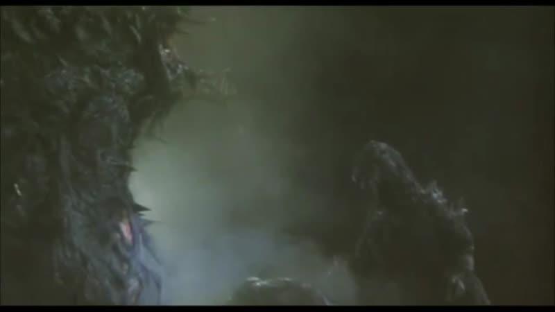 Годзилла против Биолланте (1989) битва монстров