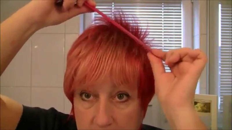 Haare selbst färben, schneiden,stylen