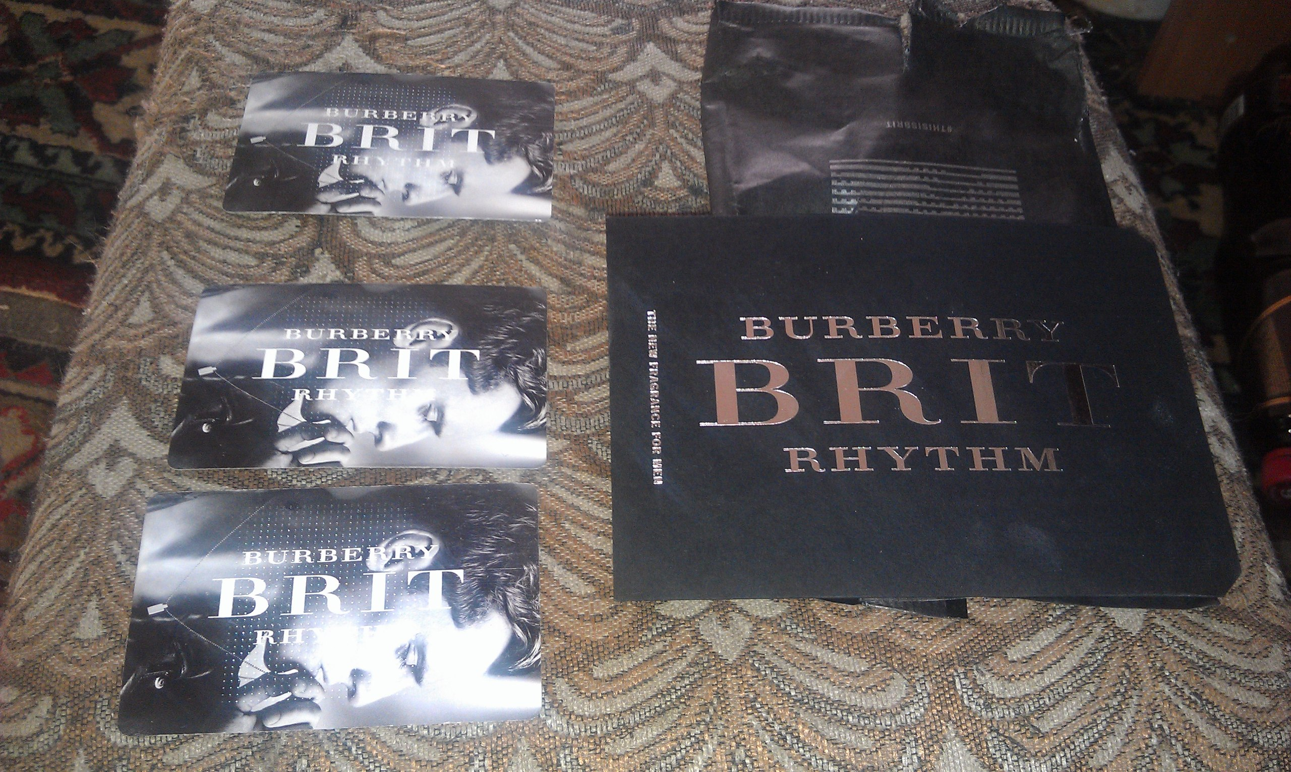 духи Burberry