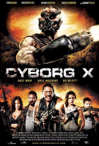 Киборг X (2016) HD