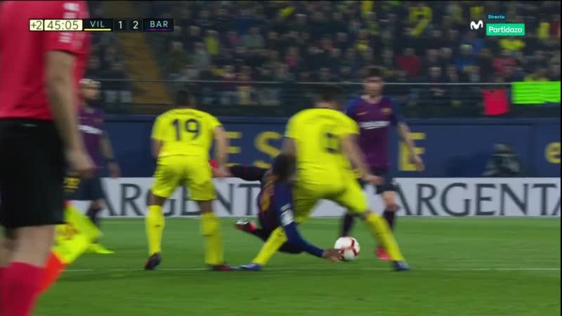 - Villareal-FC Barcelona 2018-19 - J30