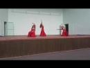 14 07 18 Танец с платком Трубицына Олеся Нина Колпачева Ирина Боева Отчетный концерт школы восточного танца Зафира