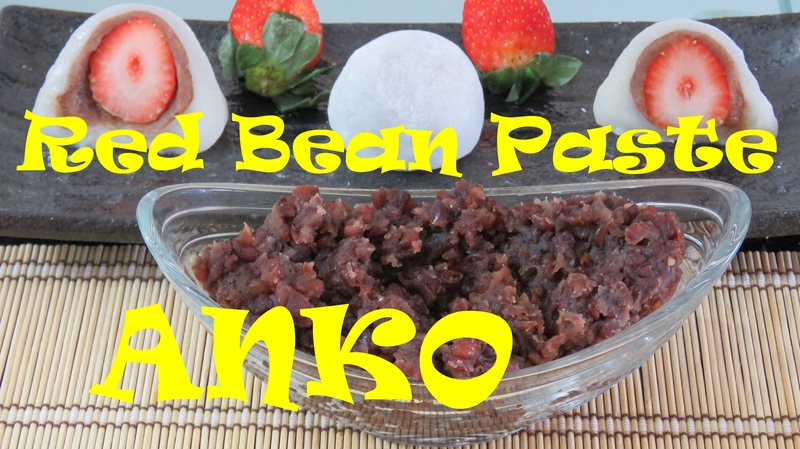 Nhân Đậu đỏ Anko 2 kiểu как сделать пасту Анко из красных бобов Mochi dorayaki doremon