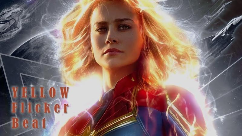 Carol Danvers (Captain Marvel) || yellow flicker beat
