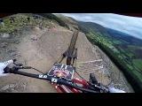 Dan Atherton Sends It Down the Hardline MTB Track Red Bull Hardline GoPro View