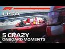 US Grand Prix | 5 Crazy Onboard Moments