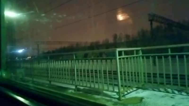 Перегон Красный строитель - Покровская Курській напрямок, ЕР2К-1200, Тула-1 Курская - Каланчёвская, послед. эл-ка!