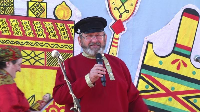 Концерт на Петровскую ярмарку в Усть-Цильме 2018 год.
