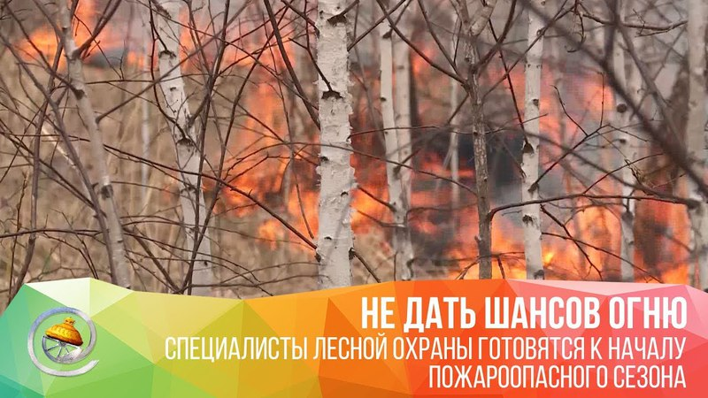 Специалисты лесной охраны готовятся к началу пожароопасного сезона