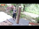 The Real Iron Leg Cewek Bertulang Baja Berkaki Besi