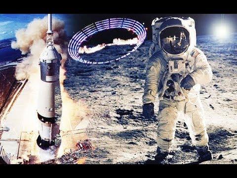 Астронавты США утверждают что на Луне есть признаки инопланетной жизни! НЛО 2018