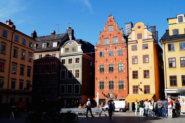 Стокгольм на открытках