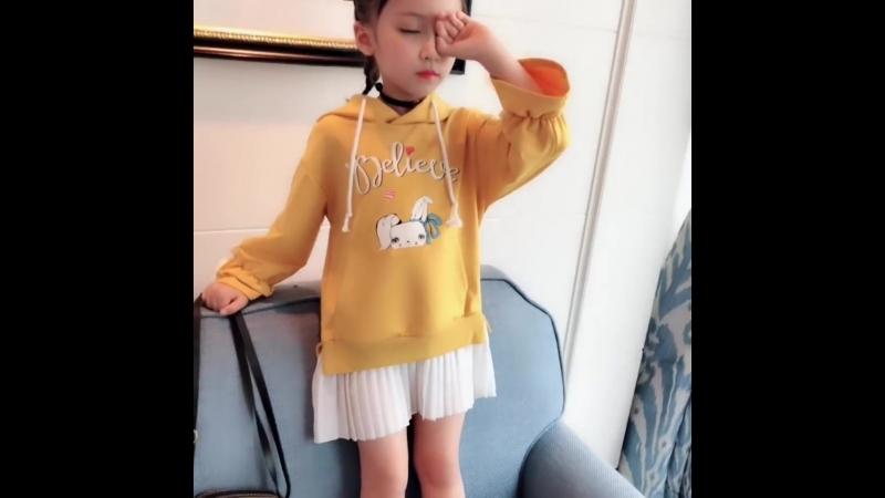 Платье AiLe Rabbit для маленьких модниц
