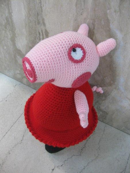 Как нарисовать свинку Пеппу карандашом поэтапно