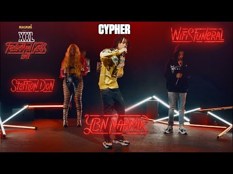 YBN Nahmir, Stefflon Don and Wifisfunerals Cypher - 2018 XXL Freshman