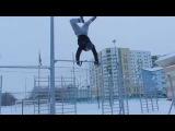 Almaz Khabibullin (Street Workout, Gimbarr, турники и брусья) 2013 Последний видео отчет