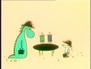 Новые варианты сказки о драконе Венгрия, 1967 короткометражный мультфильм, советская прокатная копия, дубляж