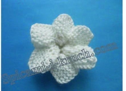 针织花朵(六瓣) - maomao - 我随心动