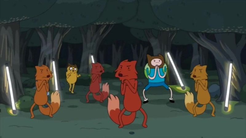 Adventure Time What Does the Fox Say