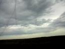 Степь, ветер, песчаная буря, гроза, ливень, град.