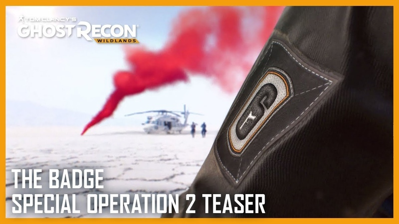 Tom Clancy's Ghost Recon Wildlands The Badge Special Operation 2 Teaser Ubisoft NA