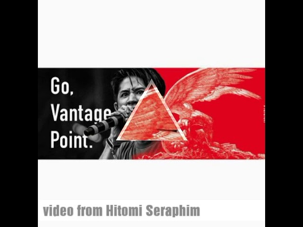 Taka ( ONE OK ROCK) Honda GVP : Go, vantage point.