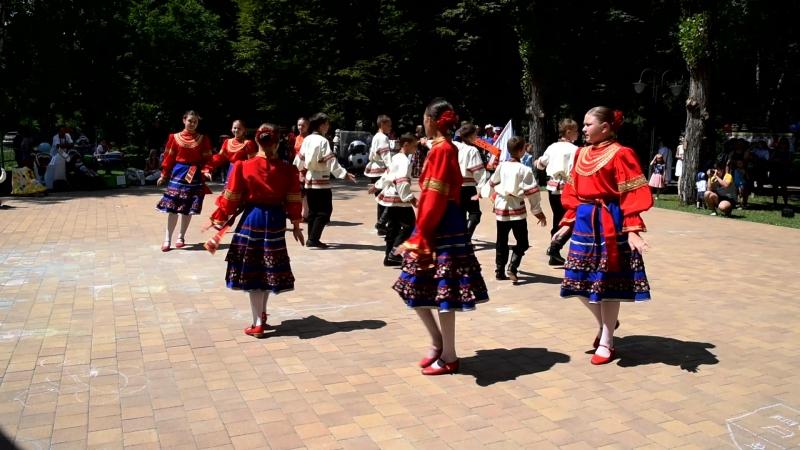 Руский народный танец 08.07.2018