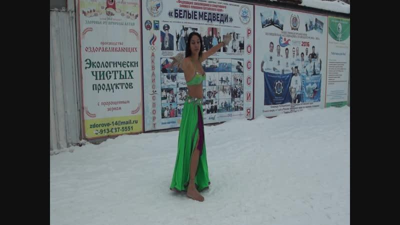 Восточный танец от Белых Медведей репетиция 29 ноября 2018