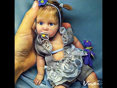 Авторская кукла из силикона Милана Silicone author's doll Milana