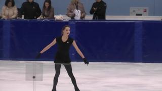 Алина Загитова КП Контрольные прокаты 2018-2019 Alina Zagitova SP Open Skates
