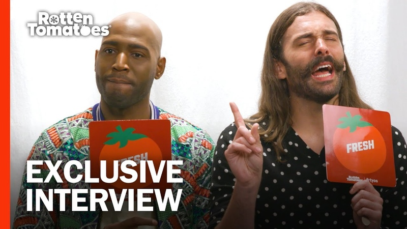 Yaaaas or Rotten 'Queer Eye' Fab Five Rate TV Movies Rotten Tomatoes