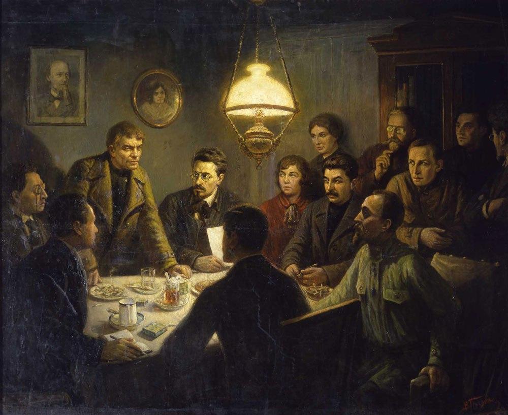 98-я годовщина Великой Октябрьской Социалистической Революции